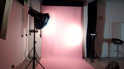 Studio Photo Fond Rose