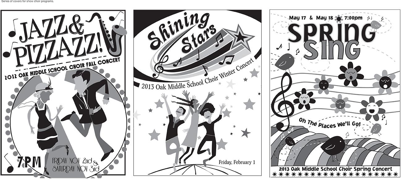Choir show covers