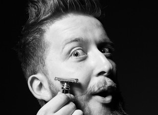 In his lifetime, a man spends almost six months shaving.