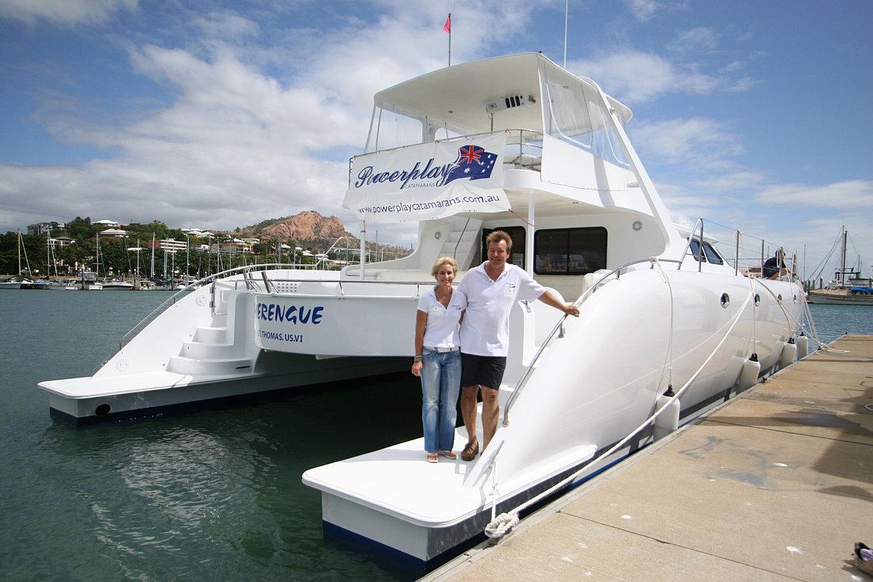 Power catamaran designs - Power Catamarans