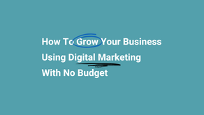 Digital Marketing With No Budget