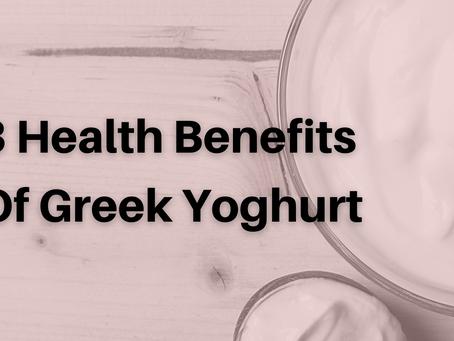 3 Health Benefits Of Greek Yoghurt
