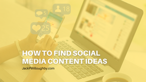 How To Find Social Media Content Ideas