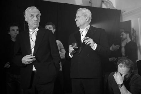 """Sur le tournage de """"Louis-Ferdinand Céline"""", de Emmanuel Bourdieu (2016)  Avec Denis Lavant, Géraldine Pailhas, Philip Desmeules…"""