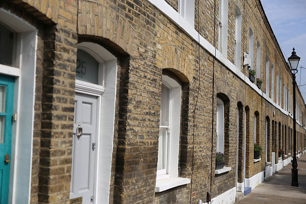 Terraced Houses sharing party walls
