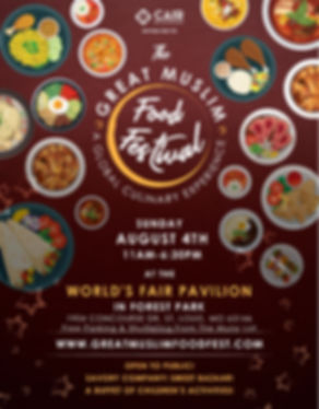 The Great Muslim Food Festival CAIR-Miss