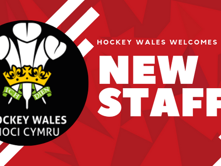 HOCKEY WALES WELCOMES NEW STAFF MEMBERS