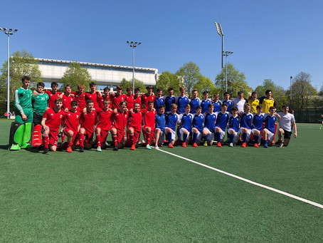 WRAP UP FOR SUCCESSFUL SERIES AGAINST SCOTS FOR U16 & U18'S