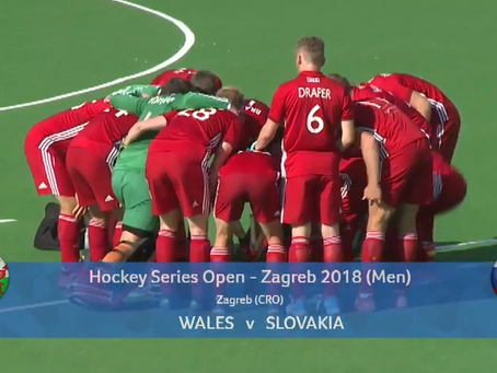 WALES DEFEAT SLOVAKIA IN OPENING GAME OF HOCKEY SERIES OPEN!