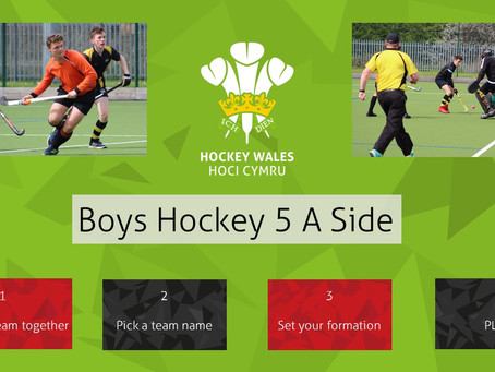 BOYS HOCKEY5S HAS ARRIVED IN POWYS!