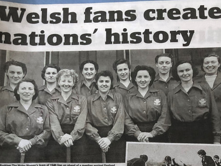 120TH ANNIVERSARY OF WALES LADIES INTERNATIONAL MATCH