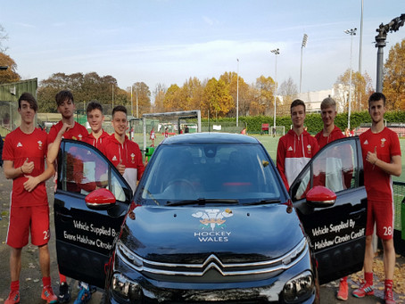 Hockey Wales partner with Evans Halshaw Citroen.