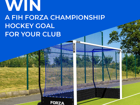 🌟 WIN A FIH FORZA CHAMPIONSHIP HOCKEY GOAL FOR YOUR CLUB 🌟