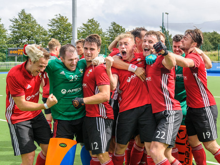 Wales men win promotion to Division A
