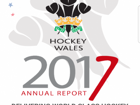 Hockey Wales Annual Report 2016/17