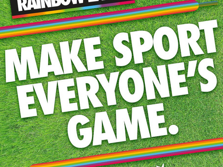 MAKING SPORT EVERYONE'S GAME – MORE THAN JUST A STATEMENT!