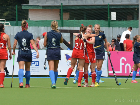 WALES U18 GIRLS FINISH EUROPEANS ON A HIGH!