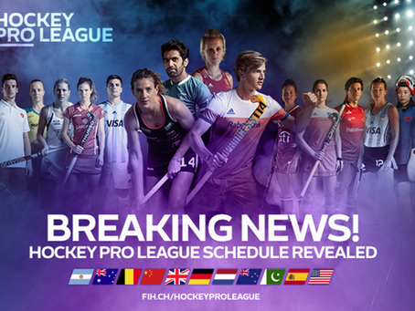 Hockey Pro League 2019 Schedule Announced!