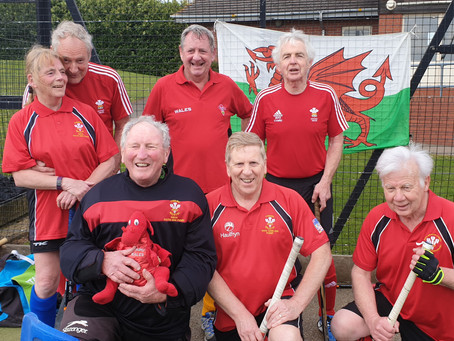 WELSH OVER 75s 7-A-SIDEINVITE TO WELLINGBOROUGH 2019
