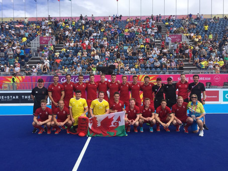 WALES MEN BEAT SOUTH AFRICA IN THEIR FINAL GAME ON THE GOLD COAST