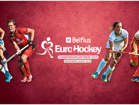 TICKETS ON SALE FOR BELFIUS EUROHOCKEY CHAMPIONSHIPS!
