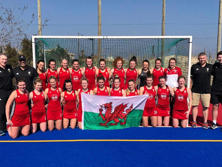 WALES SENIOR WOMEN END THE 3 DAY TEST IN FRANCE WITH A 5-0 WIN