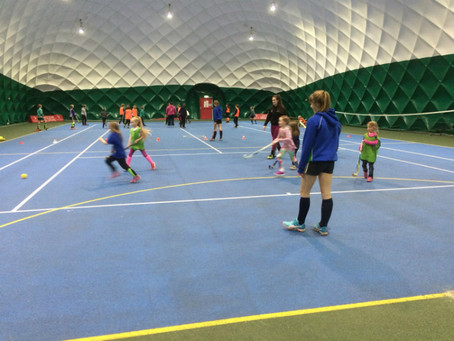 Investment in Indoor Hockey puts North Wales Hockey Club firmly on the map!
