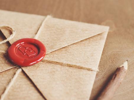 お手紙のご紹介です