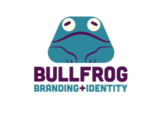 Bullfrog Branding Logo