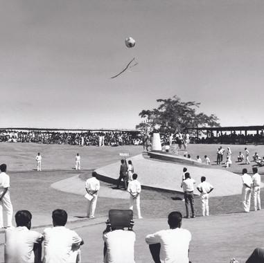 Auroville inauguration 1968