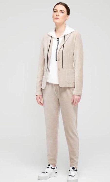 SuZa : blazer ribfluweel