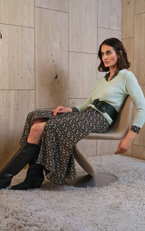 Atmos : kleed Sari olive