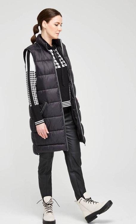 SuZa : jas/bodywarmer zwart