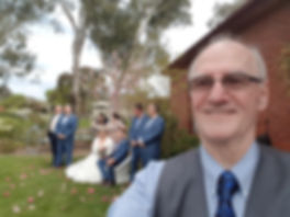 Bride and Groom Selfie