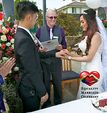 Asian Couple Aussie Wedding