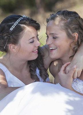 Two-Brides-Smile www.emc.wedding