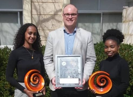 AfREC Director wins Community Pillar Award
