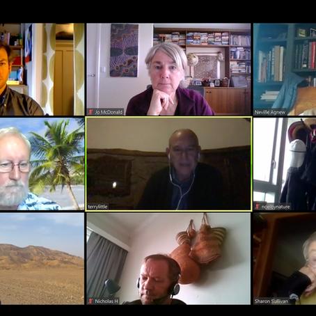 Rock Art Network Virtual Meeting