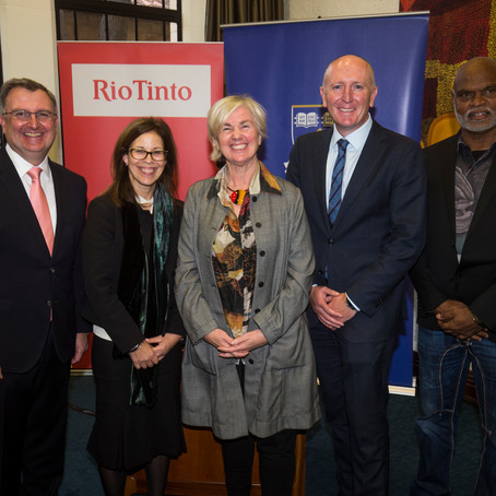 Rio Tinto and UWA Research MOU