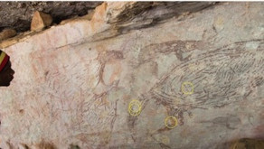 Researchers Date Australia's Oldest Known Aboriginal Rock Shelter Painting