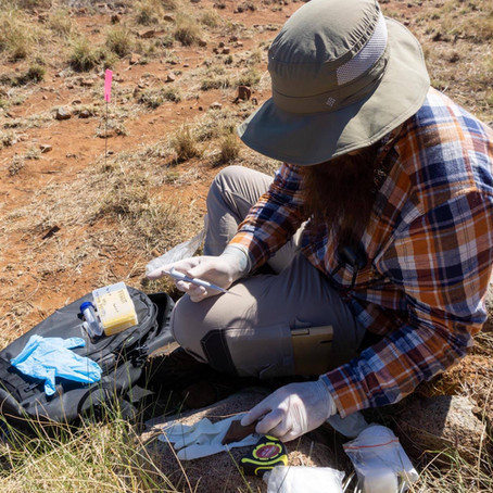 National Archaeology Week Grad Spotlight: Zane Blunt