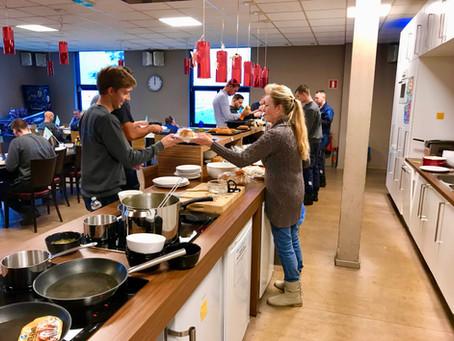 Leuk project Schiedam • Nieuw menu Oud-Beijerland • GBS start Eredivisiepoule