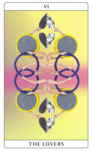 Lovers, tarot card