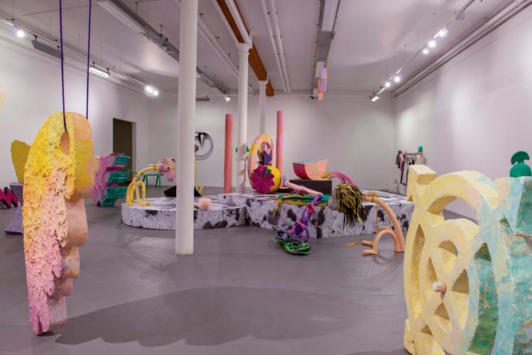 Command Lines (Installation view)