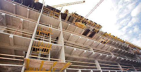 concrete slab formwork placing and finishing