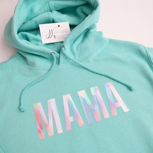 Block Mama Hoody