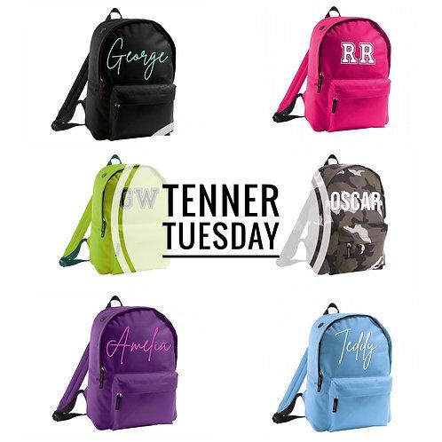 Personalised Mini Backpack