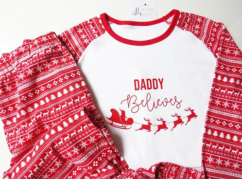 Men's Fairisle Christmas Pyjamas