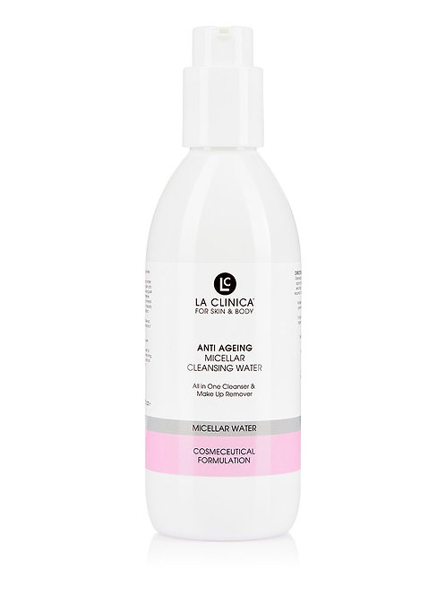 ANTI AGEING MICELLAR CLEANSING WATER 200ml