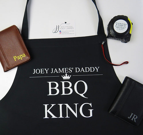 Personalised Daddy Apron